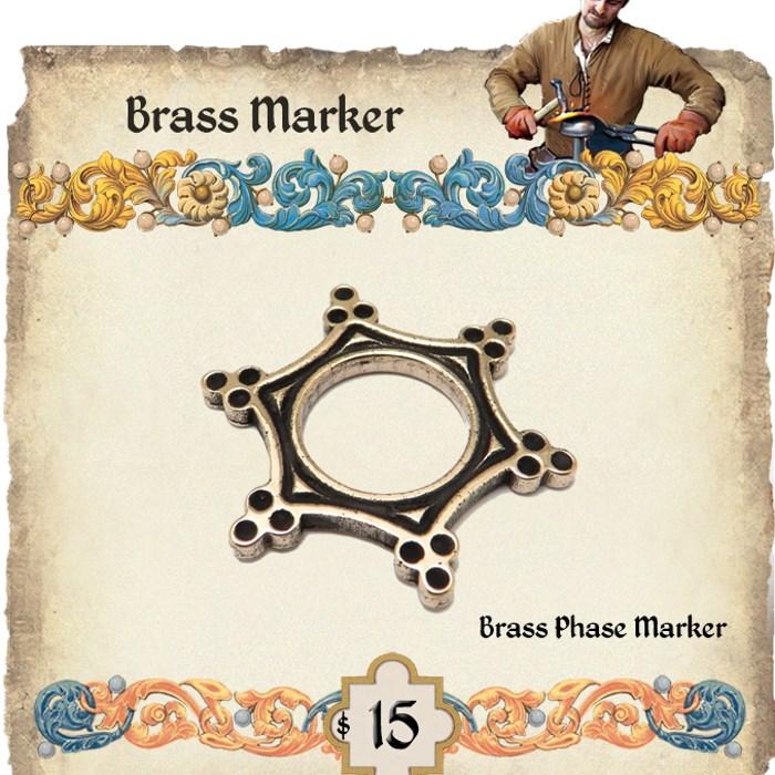 Brass phase marker