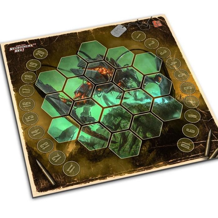 Neuroshima Hex Play Mat