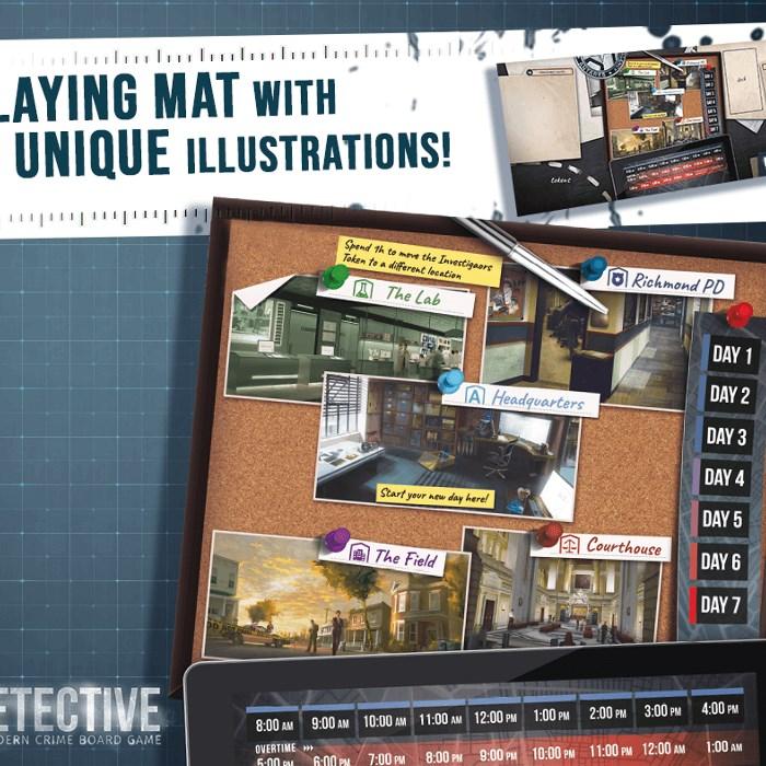 Detective Play Mat