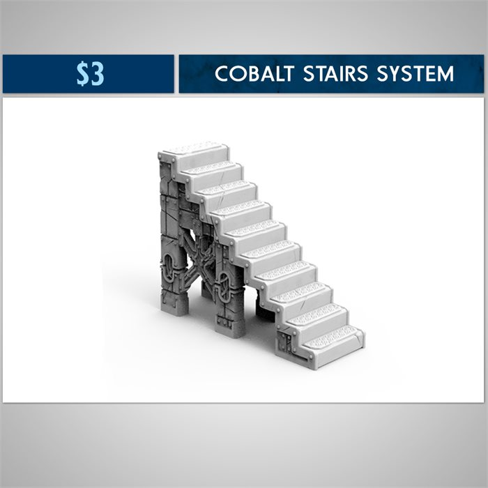 Cobalt Stairs system