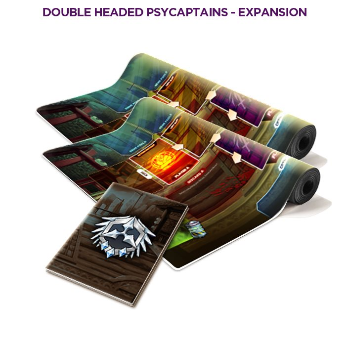 Double Headed Psycaptains - 2v2 mode