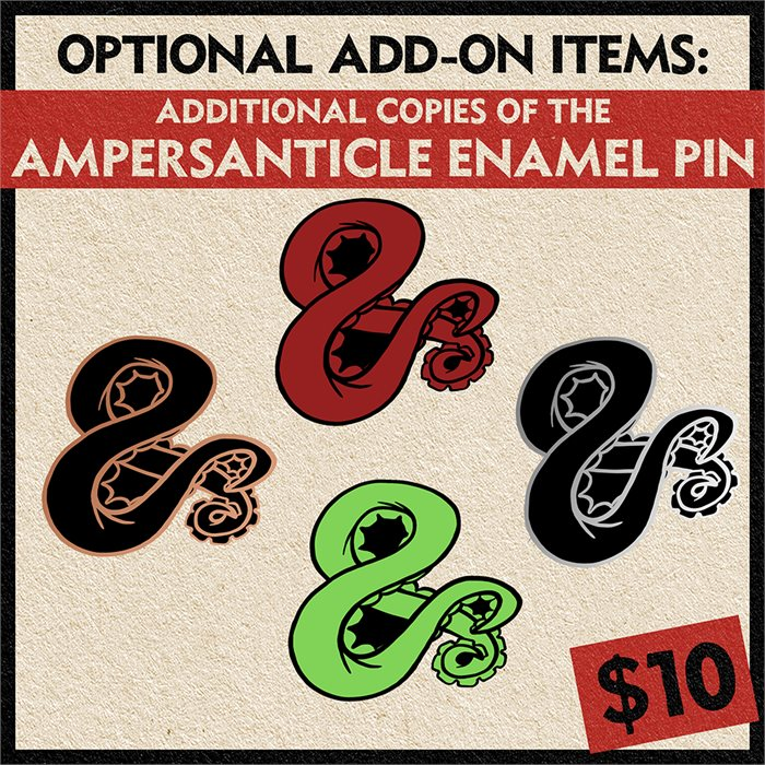 Additional Ampersand Tentacle Pins