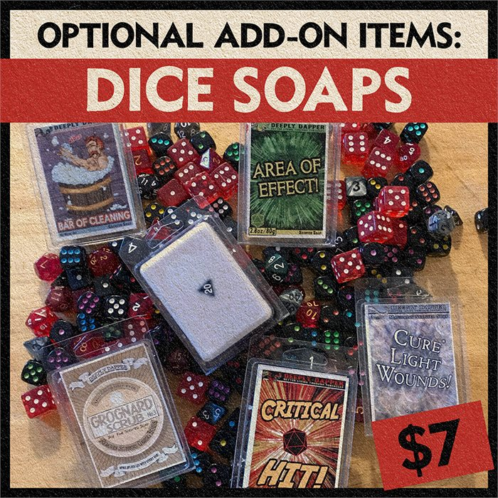 Soap Bar - Dice Embedded