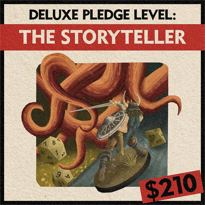 The Storyteller-Become an RPG Adventure!