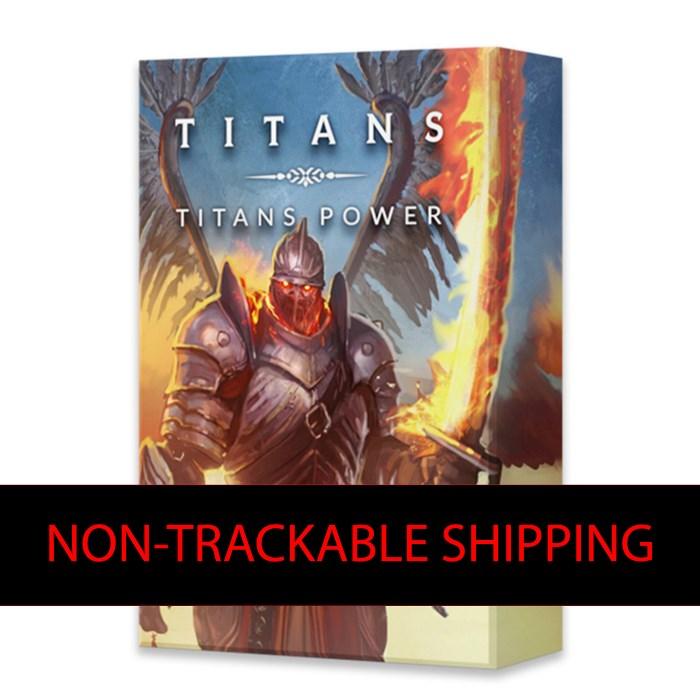 Titans Power (non-trackable shipping)