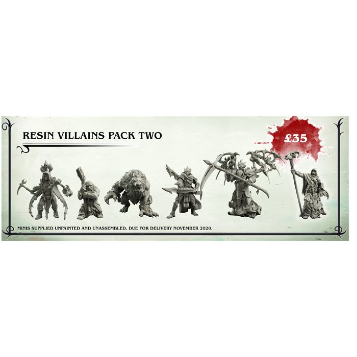 Resin Villains Pack Two