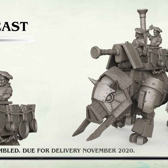 Plastic Halfling Iron Beast