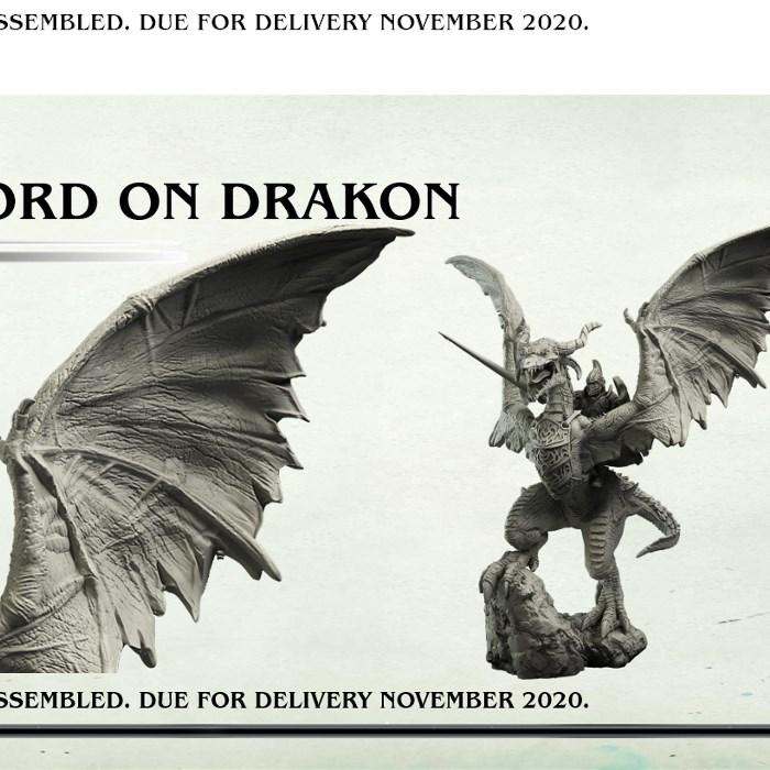 Plastic Elf Lord on Drakon