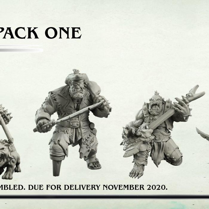 Resin Villains Pack One