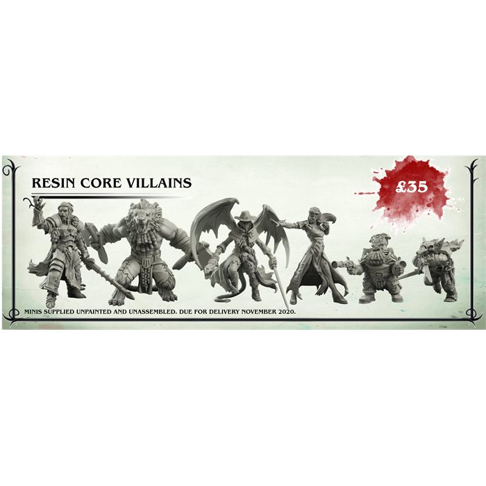 Resin Core Villains