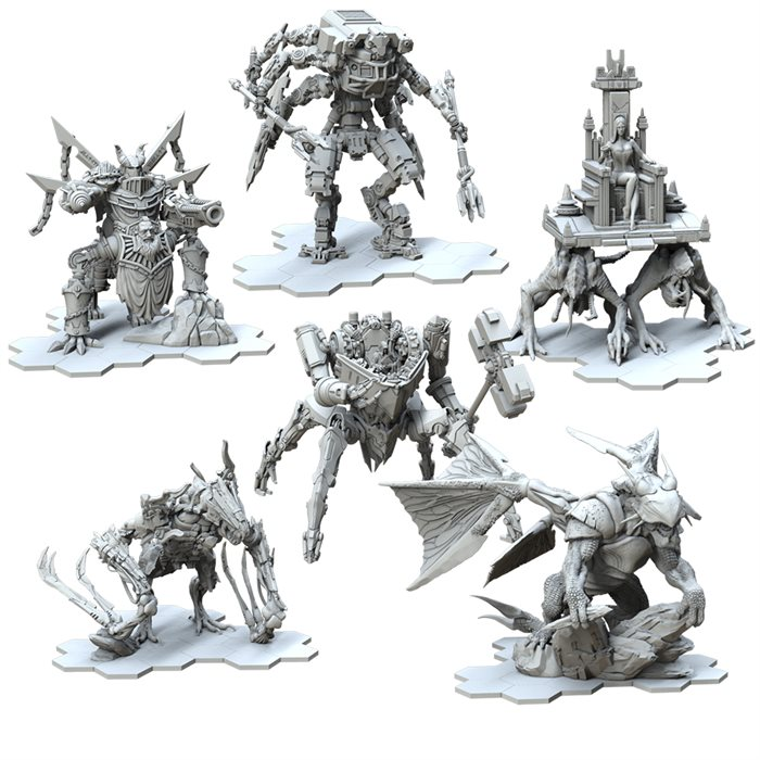 Resin Bosses bundle