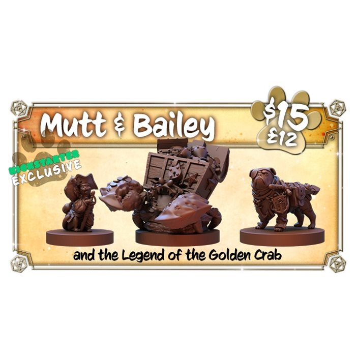 Mutt & Bailey and the legend of the Golden Crab