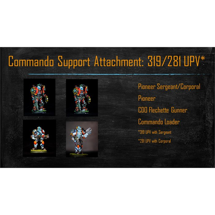 Commando Support Attachment