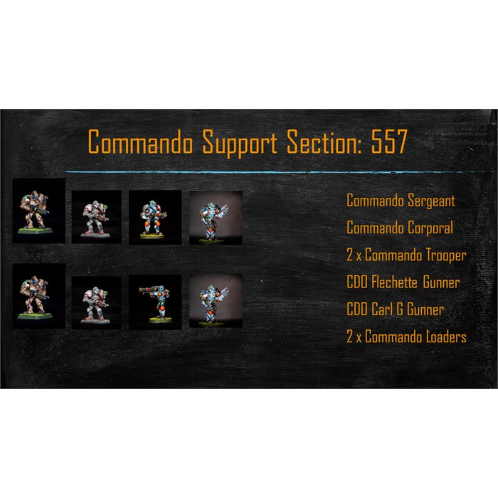 Commando Support Section