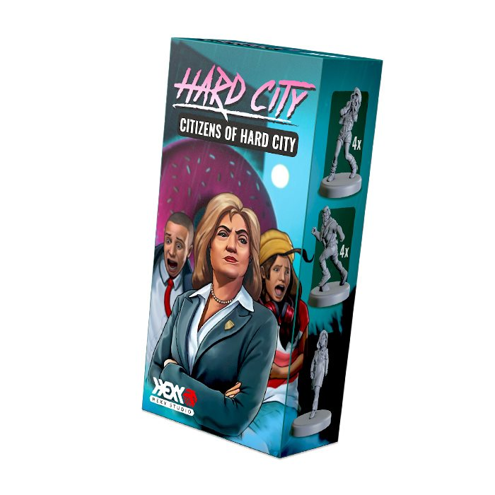 CITIZENS OF HARD CITY