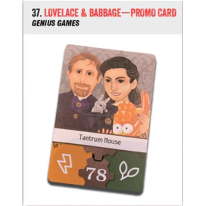 Lovelace & Babbage - promo card