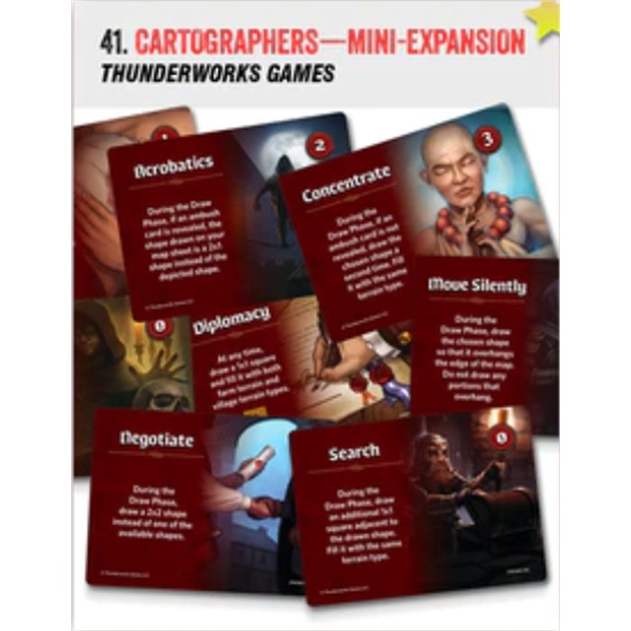Cartographers -Skills mini expansion