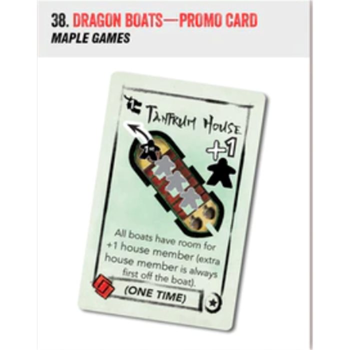 Dragon Boats - promo card