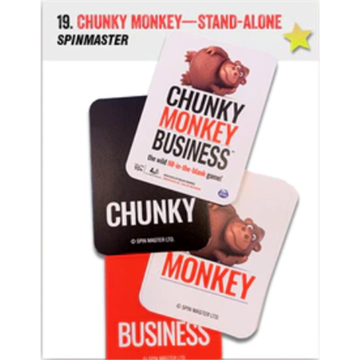 Chunky Monkey Business - stand alone game
