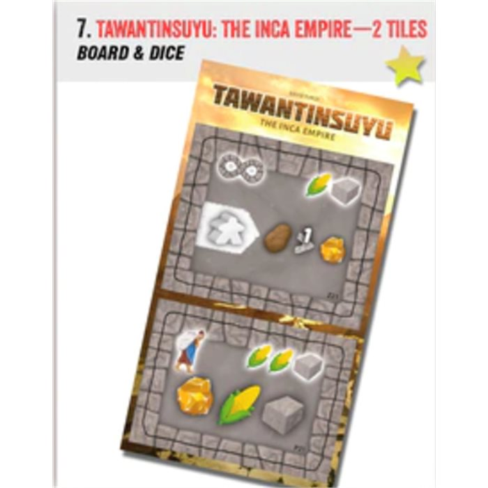 Tawantinsuyu: The Incan Empire - 2 promo tiles