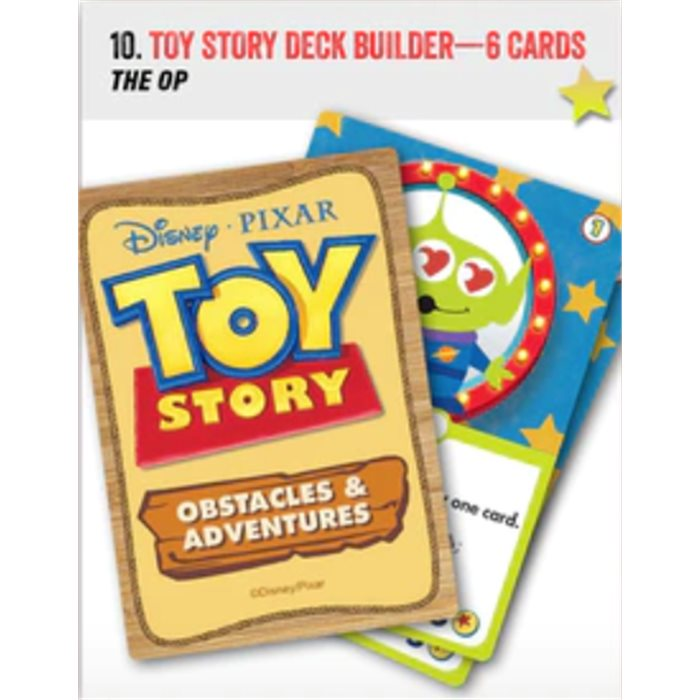 Toy Story: Obstacles & Adventures - 6 promo cards