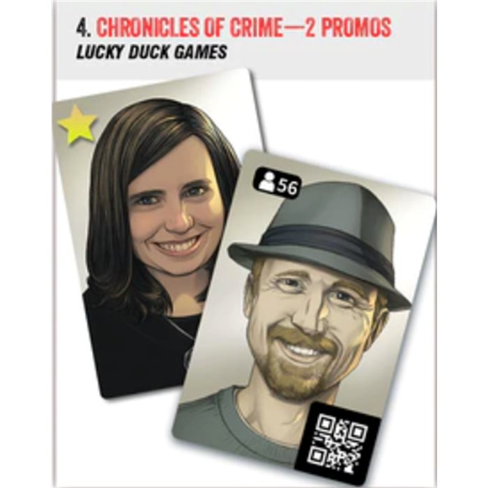 Chronicles of Crime - 2 promo cards