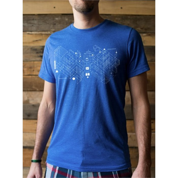 Board Game Blueprint T-shirt