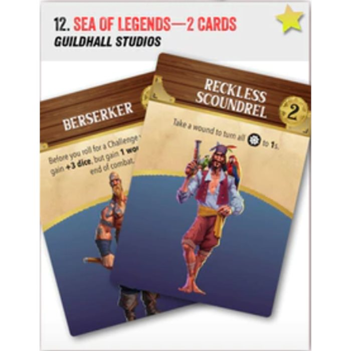 Sea of Legends - 2 promo cards