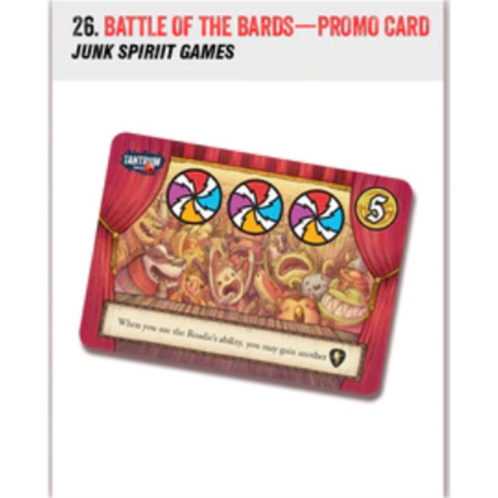 Battle of the Bards - promo card