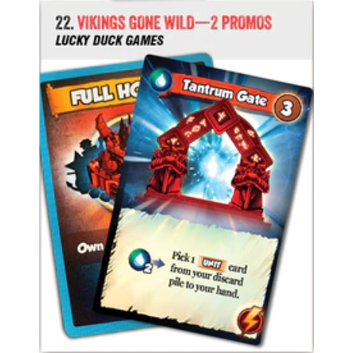 Vikings Gone Wild - promo card