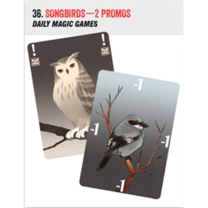 Songbirds - 2 promo cards
