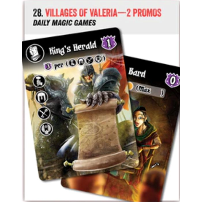 Villages of Valeria - 2 promo cards