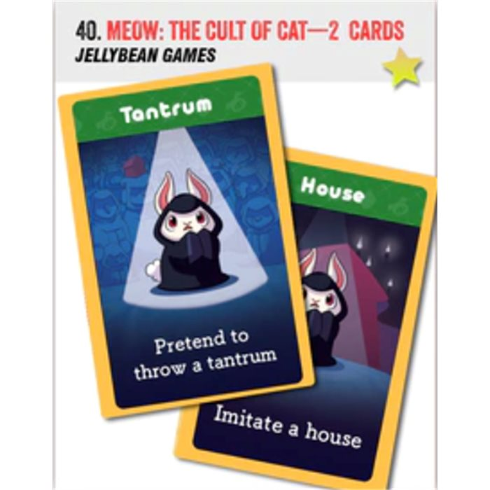 Meow: Cult of the Cat - 2 promo cards