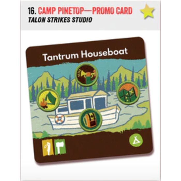Camp Pinetop - promo card