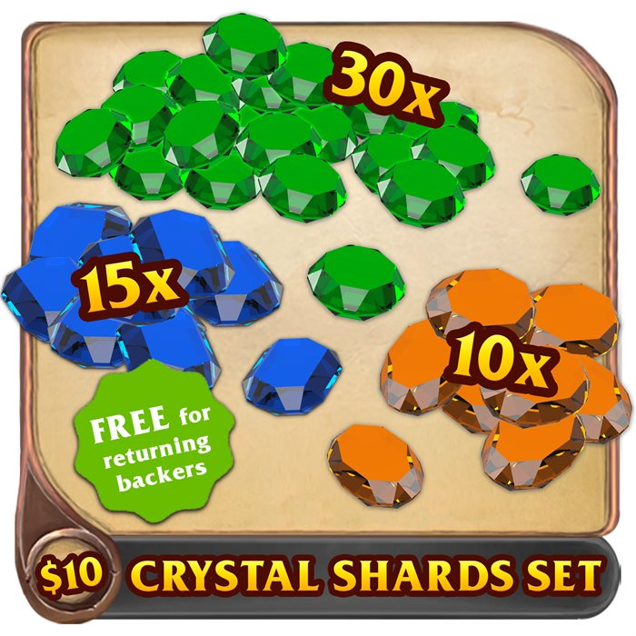 Crystal Shards set