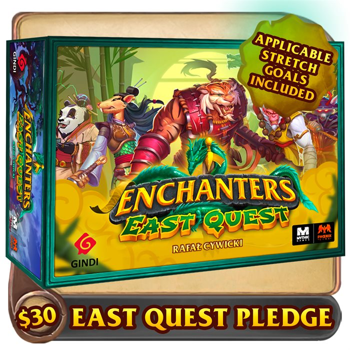 East Quest pledge