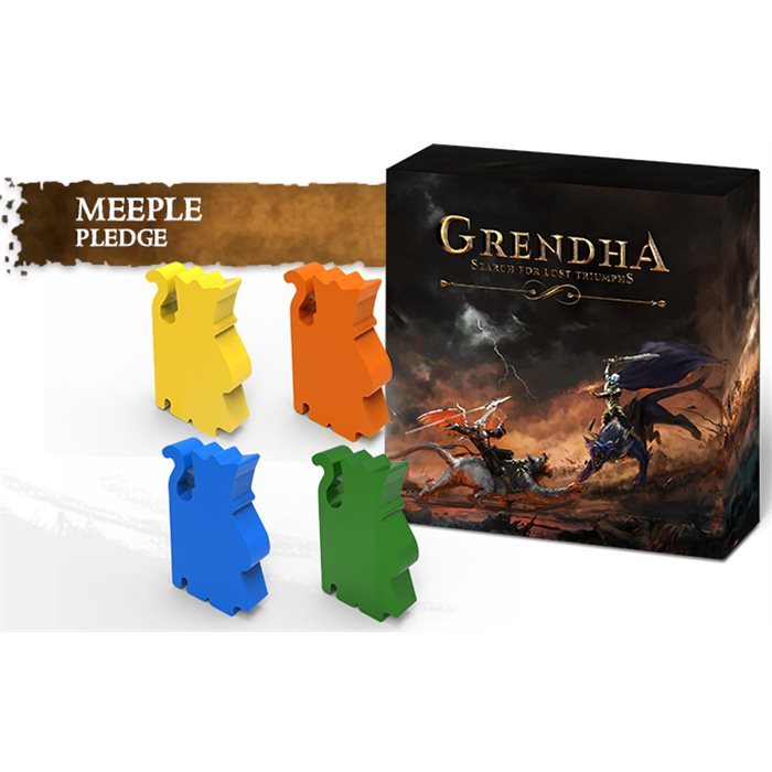 Grendha Core Box - Wooden Meeple version