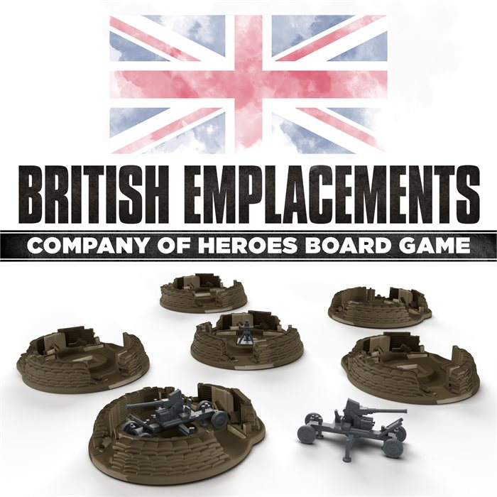 British Emplacements Pack