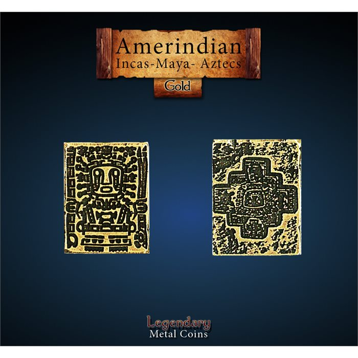 Amerindian Gold Coin