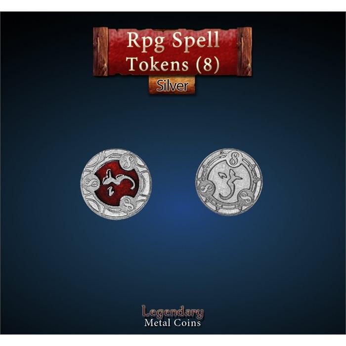 RPG Spell Token 8 - RED