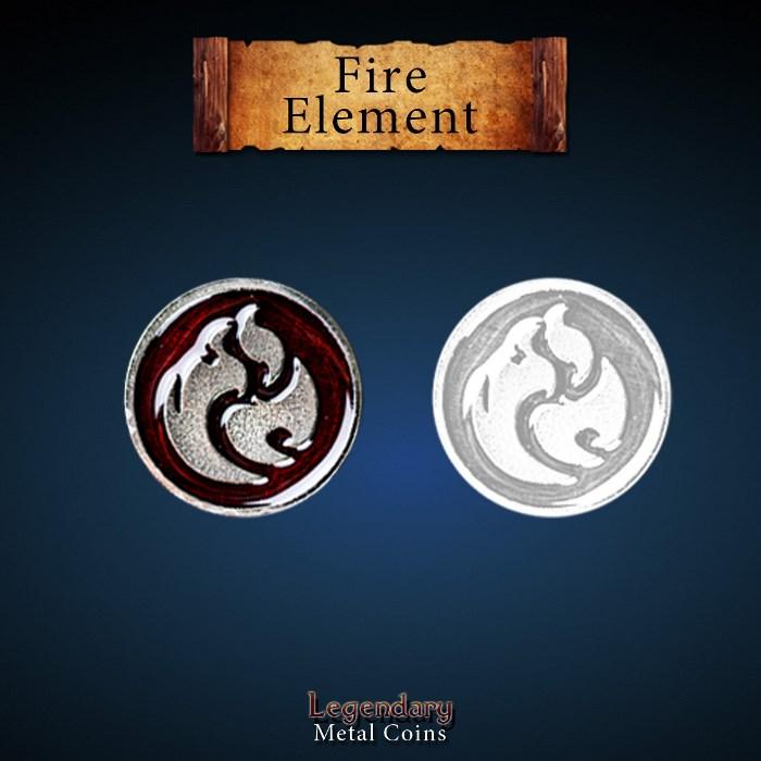 Elements Coin Set - Fire