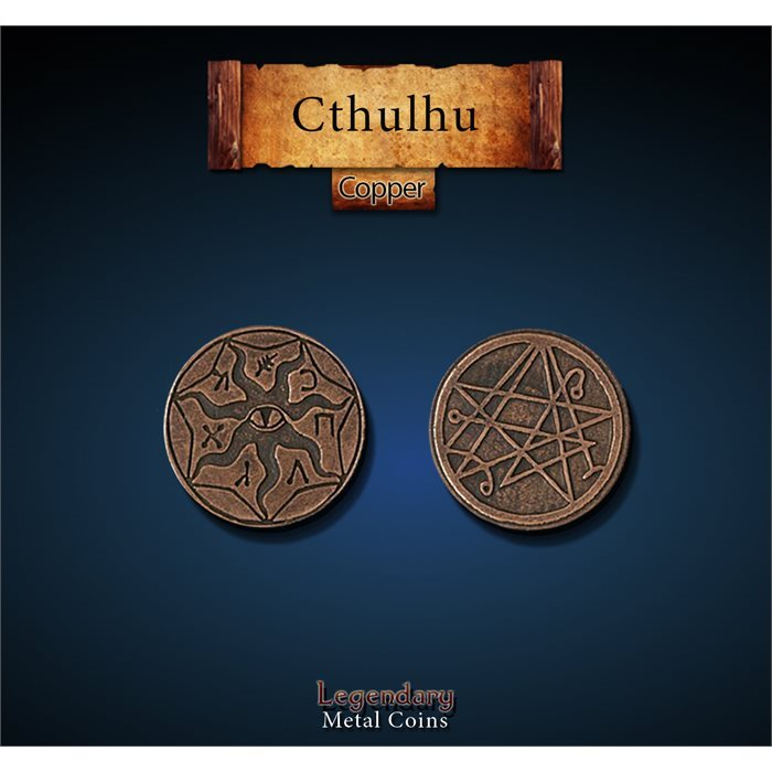 Cthulhu Copper Coins