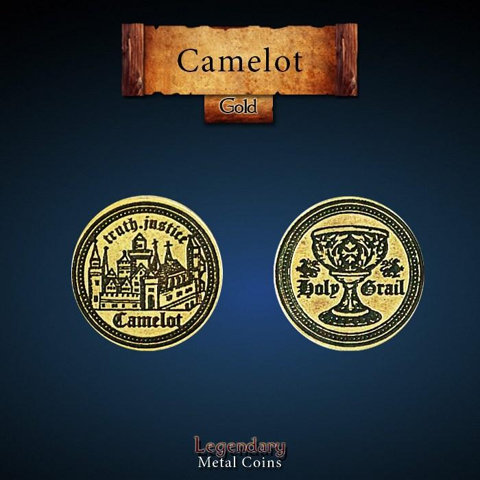 Camelot Gold Coin