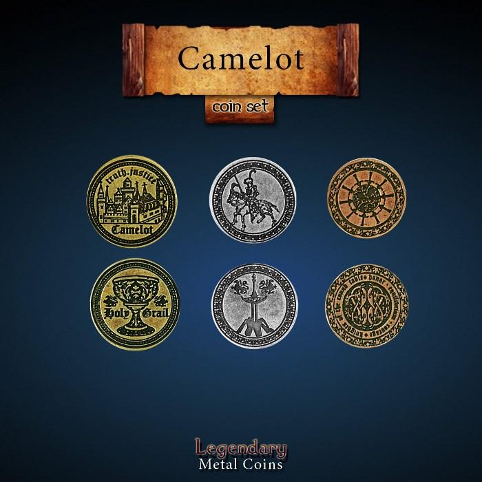 Camelot Coin Set