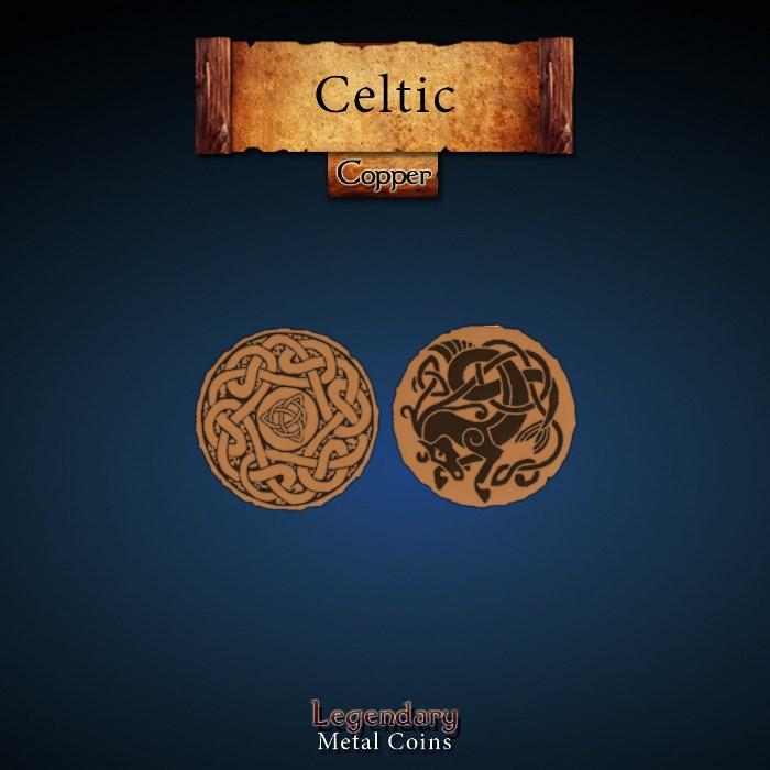 Celtic Copper Coin