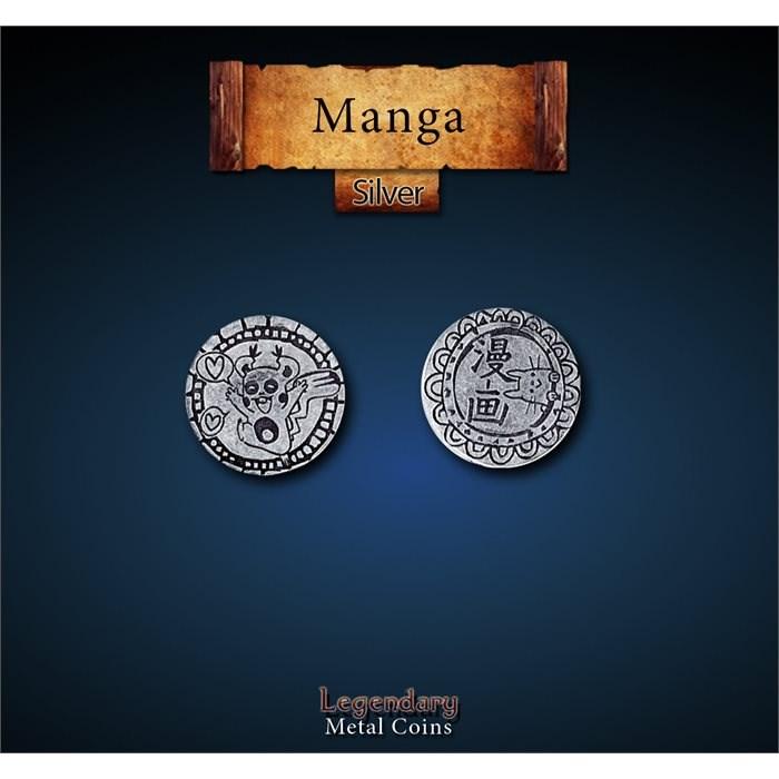 Manga Silver Coins