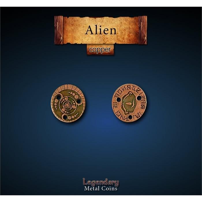 Alien Copper Coins