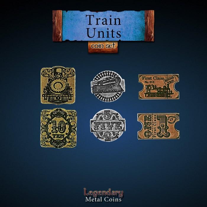 Train Units Coin Set