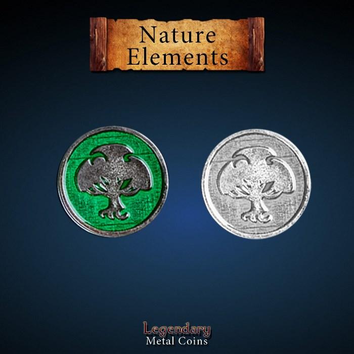 Elements Coin Set - Nature