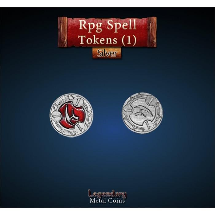 RPG Spell Token 1 - RED
